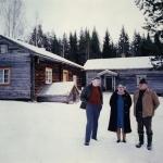 Martin o Greta Andersson och HIlding Lindblom