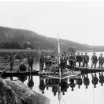 Spelflotte i Bysjön