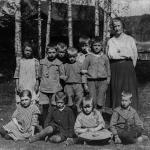 Änga skola ca 1925