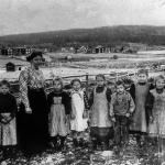 Skolbild Iste ca 1908