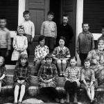 skolfoto Isteskolan ca 1932