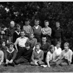 Skolkort Bogården1960