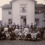 skolkort1908 Bogården