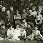 Skolkort Bogården 1962