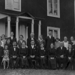 Bröllop  Adolf o Julia Pettersson häri Törnells i Bogården