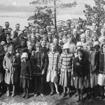 Gökotta på Byberget 1932