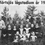 Mörtsjö skola 1901