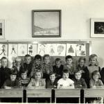 Skolkort Bogården1957-58